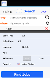 Job Search Plus Resume- screenshot thumbnail