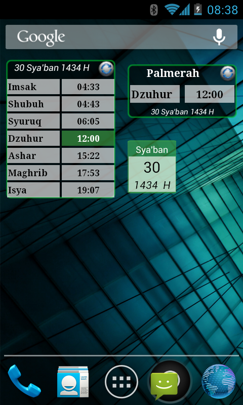 Shalat Times - screenshot