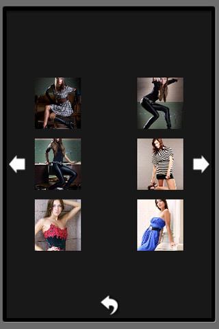Model Poses- screenshot
