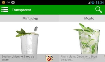 Screenshot of Cocktails Recipes