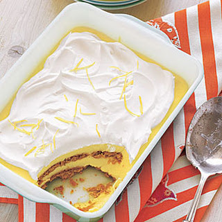 Lemon-Graham Icebox Cake.