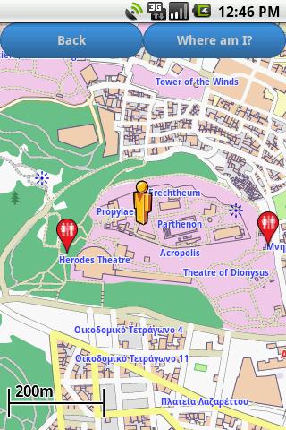 【免費旅遊App】Athens Amenities Map-APP點子