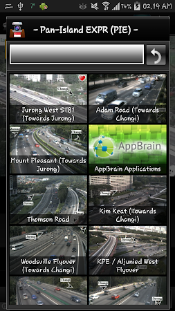 Cameras Singapore - Traffic 5.9.7 screenshot 1264660