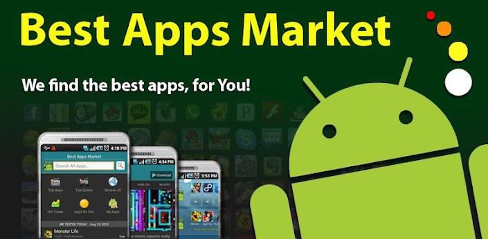 Скачать Best Apps Market - лучшие игры и программы для Android