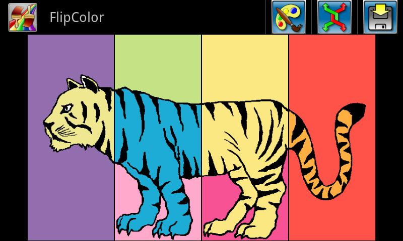 FlipColor Free - screenshot