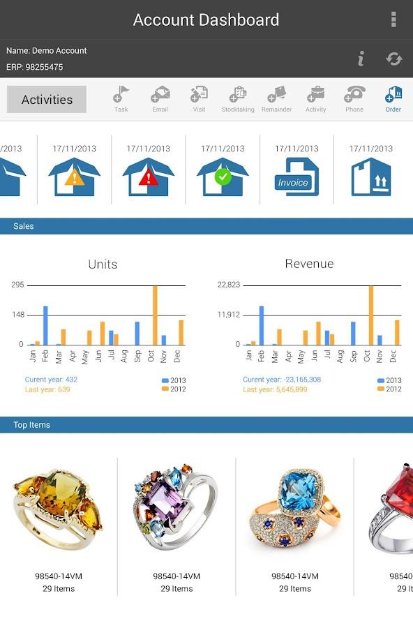 SupeRep Catalog Order Taking - screenshot