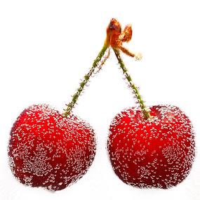 cherries by Fernando Ale - Food & Drink Fruits & Vegetables ( , Food & Beverage, meal, Eat & Drink )