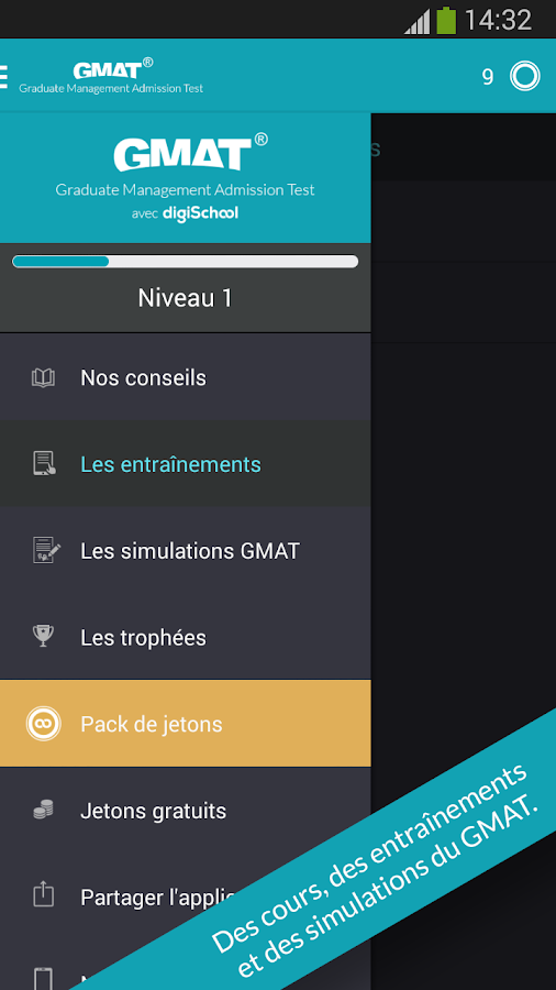GMAT® avec digiSchool – Capture d'écran