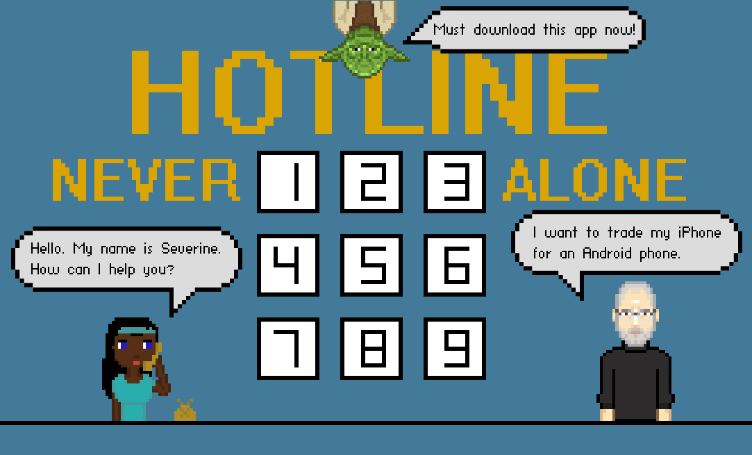 NEVER ALONE HOTLINE - screenshot