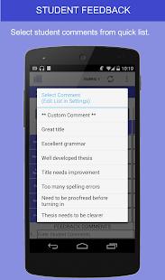 Rubric Scorer (free) - screenshot thumbnail