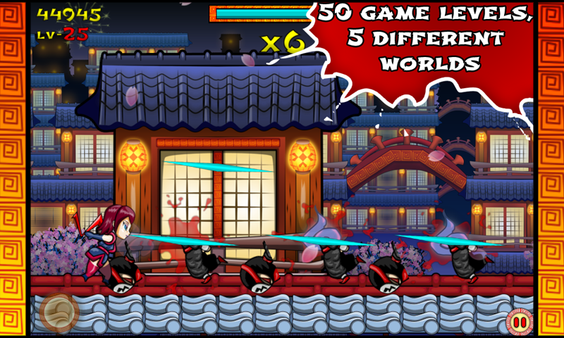 Ninja Slash! Runner- screenshot