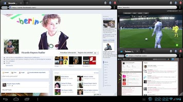 Screenshot of OverSkreen Floating Browser