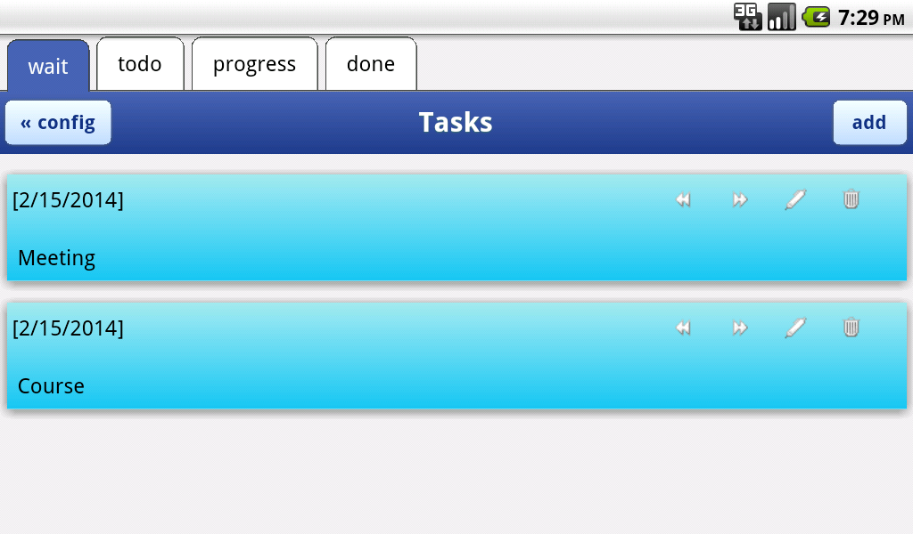 Time Management - screenshot