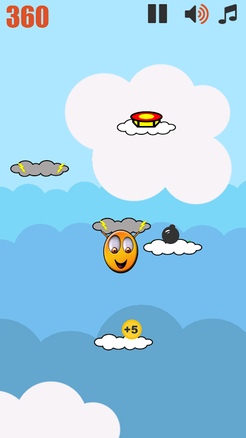 Cloud Hopper- screenshot