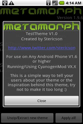 MetaMorph Pro- screenshot