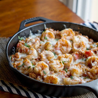 Cajun Shrimp and Quinoa Casserole