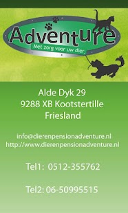 Dierenasiel Kootstertille - screenshot thumbnail