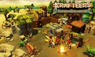 Screenshot of Krafteers - Tomb Defenders
