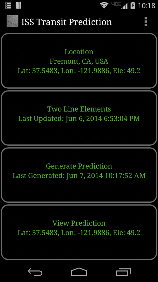 ISS Transit Prediction Free- screenshot