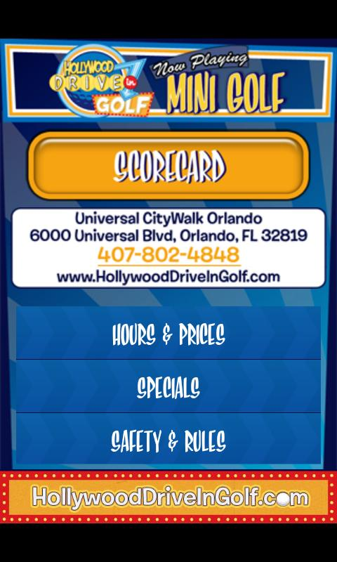 Hollywood Drive-In Golf- screenshot