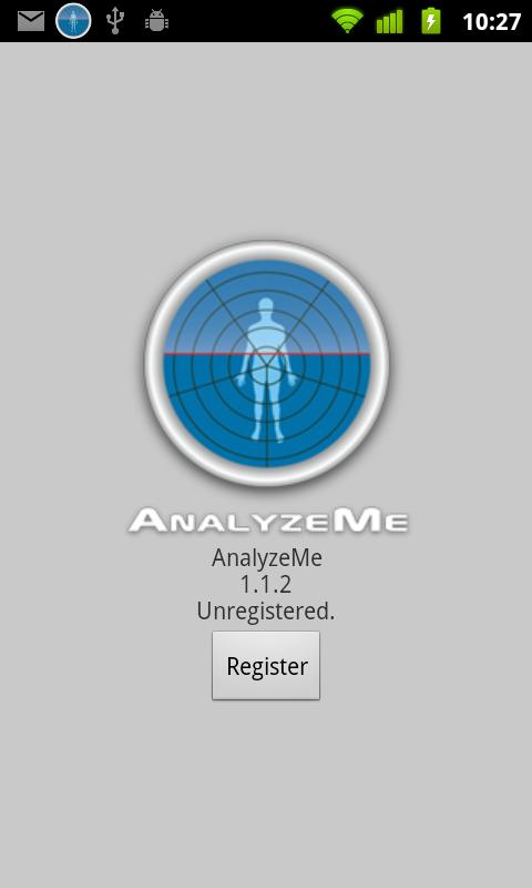AnalyzeMe - screenshot