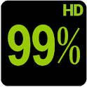 BN Pro Percent HD Text icon