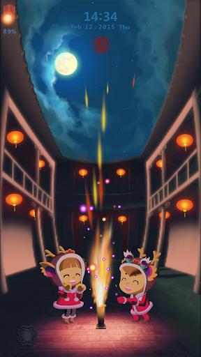 Spring Festival Locker Theme