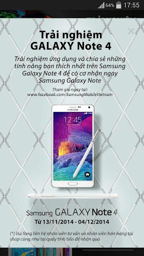 Trải nghiệm Galaxy Note 4