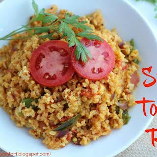 Spicy Tomato Rice.