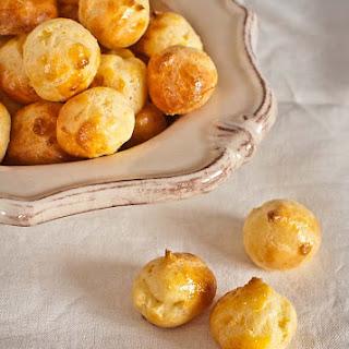 Manchego Cheese Puffs.