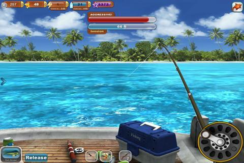 Fishing Paradise 3D Free+ screenshot