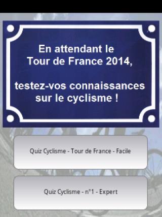 Quiz Cyclisme