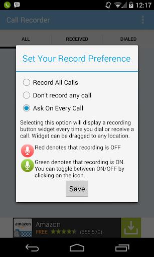 Call Recorder- Track all calls