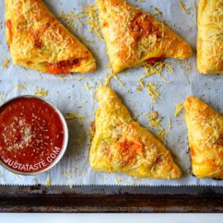 Cheesy Chicken Pizza Pockets.