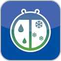 WeatherBug Time & Temp widget