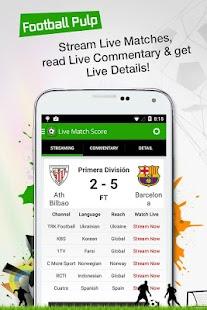 Football Pulp - Watch it Live!- screenshot thumbnail