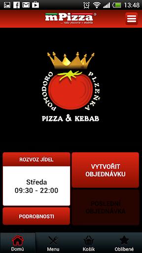 Pizza Kebab Plzeňka