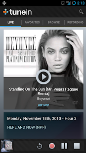 TuneIn Radio Pro - screenshot thumbnail