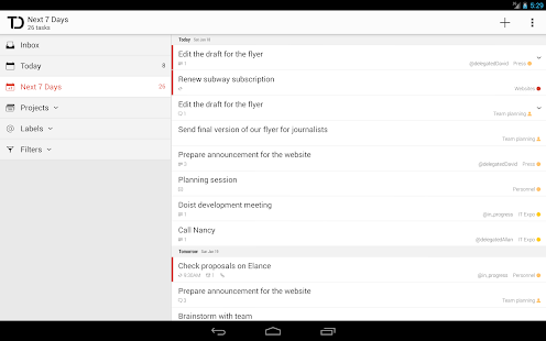 Todoist: To-Do List, Task List Screenshot 22