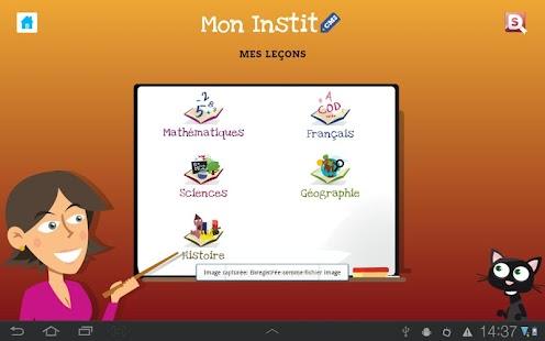 玩免費教育APP|下載CM2 Mon Instit app不用錢|硬是要APP
