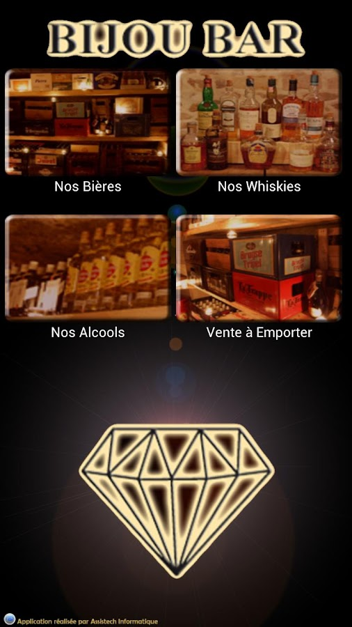 bijou bar applications android sur google play. Black Bedroom Furniture Sets. Home Design Ideas