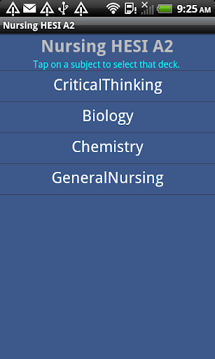 Nursing HESI A2