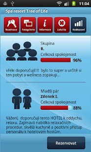 HOTELY cz Rezervace ubytování - screenshot thumbnail