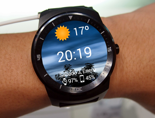Beautiful Weather Watch Face