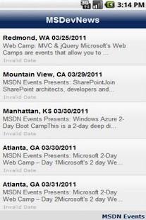 Microsoft Developer News - screenshot thumbnail