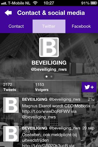 【免費新聞App】BEVEILIGING-APP點子