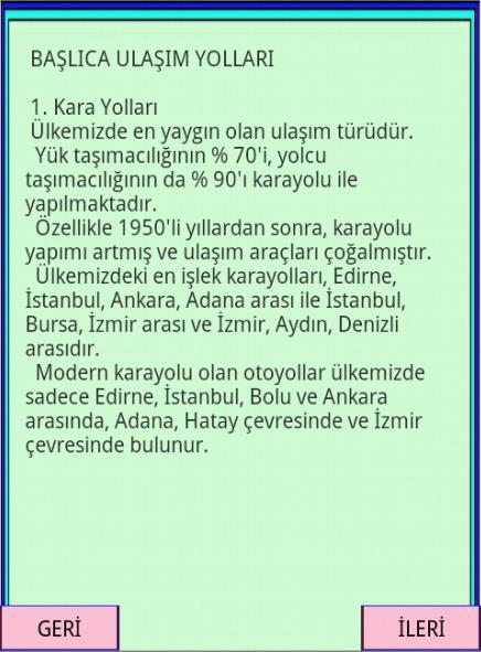 KPSS YGS COĞRAFYA TR. EK. CO-2 - screenshot