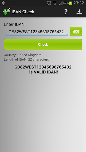 IBAN Check