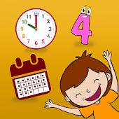 Números Tiempo Días Meses