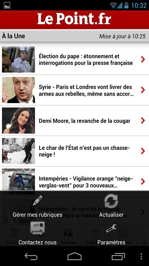 Le Point - screenshot
